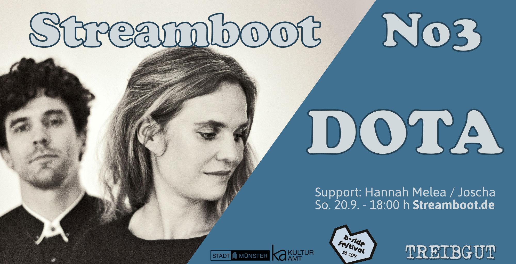 Streamboat - No 3 mit DOTA - Joscha Borgers und Hannah Melea